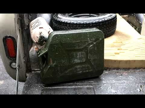 """Fake"" Nato Fuel Jerry Gas Cans"