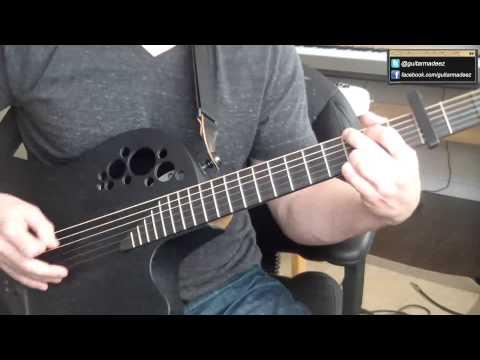 Toto - Africa - Guitar Tutorial