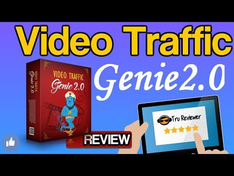 Video Traffic Genie 2 0 Review  - MUST WATCH THIS Amazing Software!