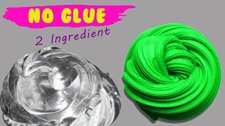 NO GLUE SLIME Testing 2 Ingredients Shampoo and Dish Soap Slime Recipes