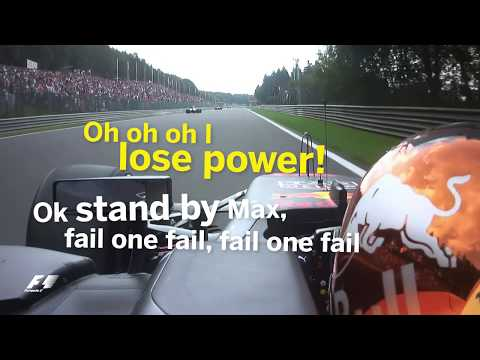 2017 Belgian Grand Prix: Best of Team Radio