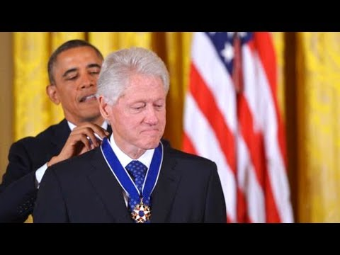 Bill Clinton Awarded the Medal of Freedom