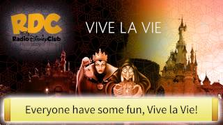 """Vive la Vie"" Lyrics (2015) - Disneyland Paris"