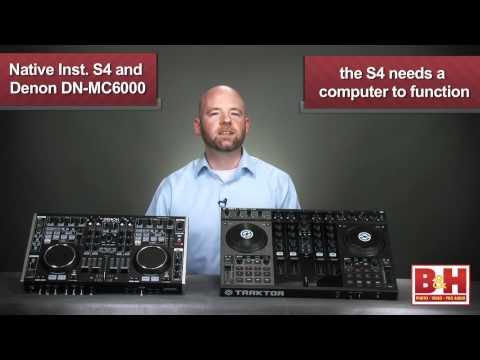 NI Kontrol S4 and Denon DN-MC6000