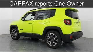 2017 Jeep Renegade Latitude Used Cars - McKinney,Texas - 2018-12-10