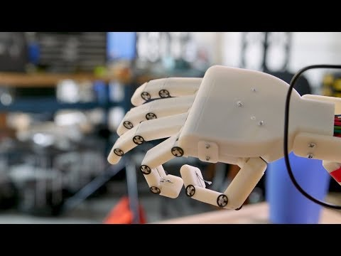 A Robotic Hand with Brains
