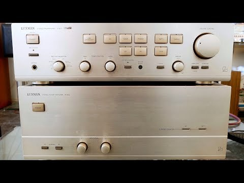 Luxman M-383 & C-383 Monster Amplifier 2x700w 2ohm!!!