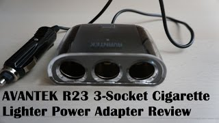 AVANTEK R23 3 Socket Cigarette Lighter Power Adapter(Buy it here: http://www.amazon.co.uk/dp/B00ZOJIOZK Find me at: Facebook: http://www.facebook.com/vassileo Twitter: http://www.twitter.com/vassileo_OOTB., 2015-07-30T10:07:22.000Z)