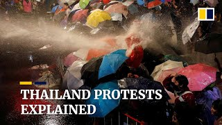 Thailand protests: How it all started
