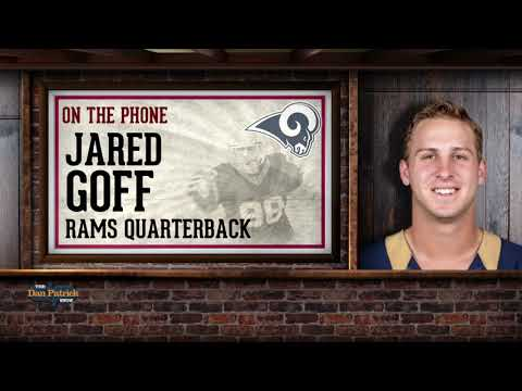 Rams QB Jared Goff Calls Into The Dan Patrick Show | Full Interview | 1/10/18