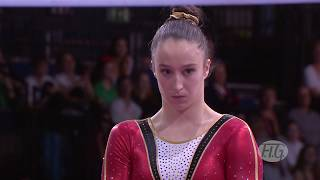 2019 Artistic Worlds, Stuttgart (GER) –  Nina DERWAEL (BEL), Uneven Bars All-around final