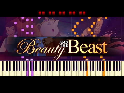 Be Our Guest Piano  Beauty and the BEAST