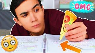 TESTING WEIRD SCHOOL SUPPLIES ?!! JustJonathan