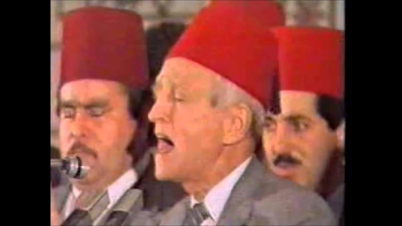 اغيب وذو اللطائف لا يغيب اداء رابطة دمشق تفريدة رمضان شهر الهدى لتوفيق المنجد