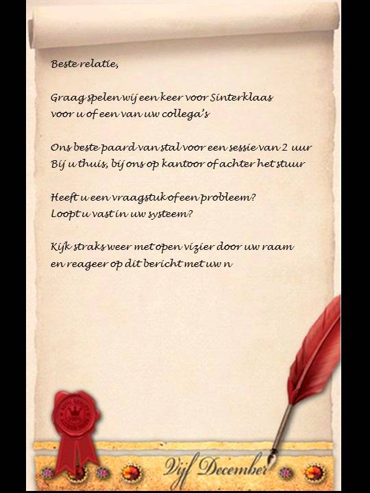 Video Sinterklaasgedicht Youtube