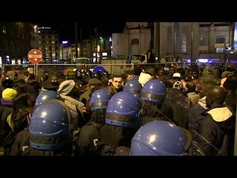 African migrants in Italy protest vendor's murder