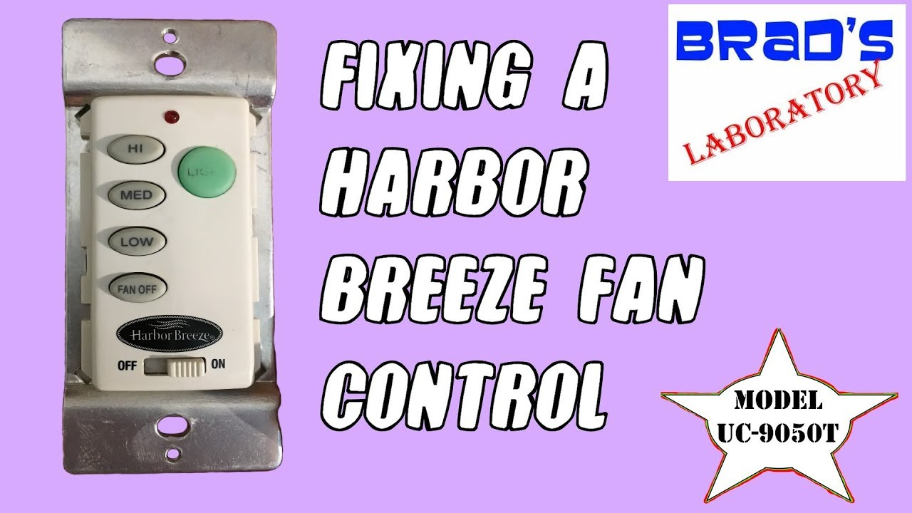 Harbor Breeze Fan Controller - YouTube on coleman wiring diagram, ge wiring diagram, hunter wiring diagram, hampton bay wiring diagram, rca wiring diagram, ceiling fan wiring diagram, craftmade wiring diagram, whirlpool wiring diagram, john deere wiring diagram, minn kota 24 volt trolling motor wiring diagram, panasonic wiring diagram, bionaire wiring diagram, concord wiring diagram, husqvarna wiring diagram, kohler wiring diagram, star wiring diagram, honeywell wiring diagram, samsung wiring diagram, broan wiring diagram, marvel wiring diagram,