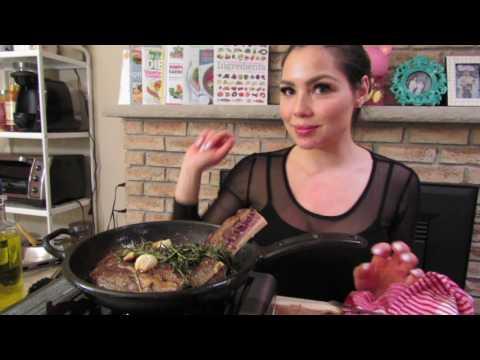 TRUFFLE TATER TOTS Recipe AND Steak! yummy | Mukbang - Eating Show