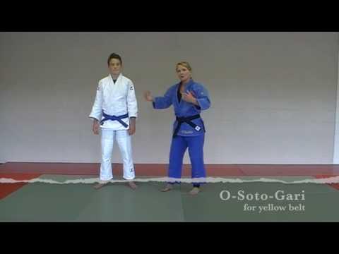 Judo Techniques for Belt Promotion  - Yellow Belt