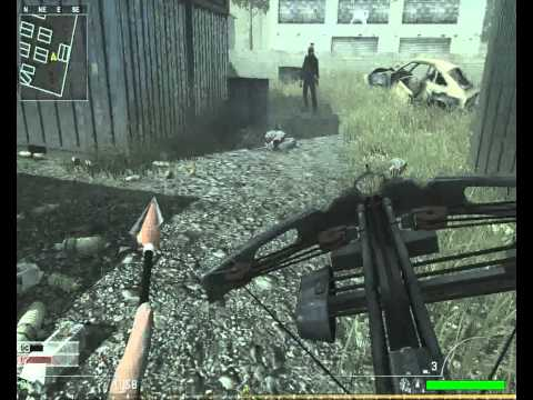 Call of Duty 4:RoZo - Crossbow /w explosive bolts