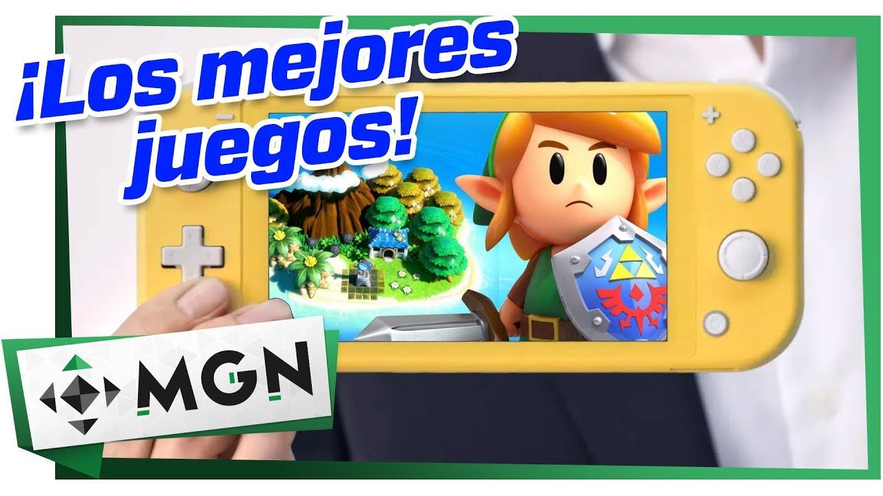 5 Mejores Juegos para Estrenar un Nintendo Switch Lite | MGN