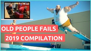 Old People Fails Compilation 2019 - Funny Fails 2019