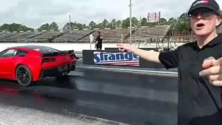 2017 800HP Lingenfelter Corvette on the Track for Testing