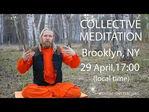 Starting up a Collective Meditation in USA