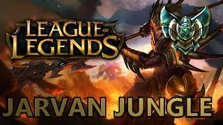 Zagrajmy w League of Legends: Ranked - Jarvan IV Jungle - Platyna V [60 FPS]