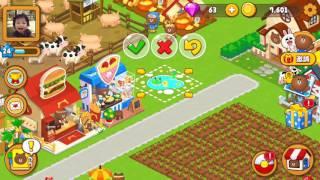 [Gameplay] Line Brown Farm - Free 50 Diamonds
