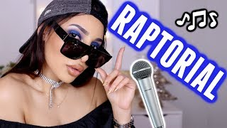 JE RAPPE EN FAISANT MON MAKE UP ⎮ #RAPTORIAL