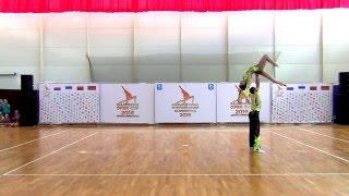 Спортивная акробатика. Показательные выступления на Kaliningrad Open Cup - 2016 AEROBIC GYMNASTICS