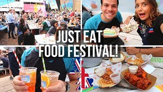 🇬🇧Great British Food Festival! 🍔 | Just Eat Food Festival