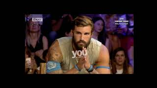 Survivor 2: Ο Ηλίας Γκότσης πέρασε στον τελικό του παιχνιδιου