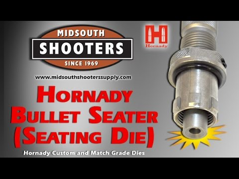 Hornady Bullet Seating Die Alignment Sleeve - YouTube