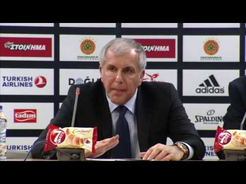 Euroleague Post - Game Press Conference: Panathinaikos Superfoods vs Fenerbahce Istanbul