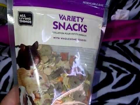 Can Guinea Pigs eat these snacks?