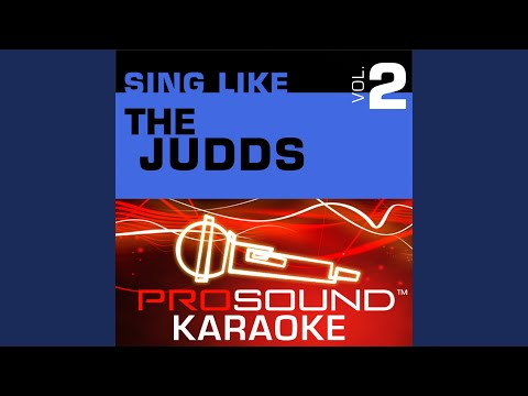Young Love (Karaoke Instrumental Track) (In the Style of The Judds)