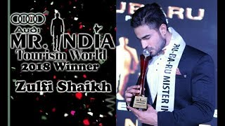Dhubri- Dhubri Boy Zulfi Shaikh won Mr.India Tourism World 2018