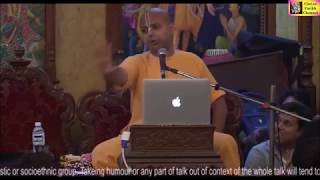 Playing Master Strokes of Life by HG Shri Gaur Gopal Prabhu