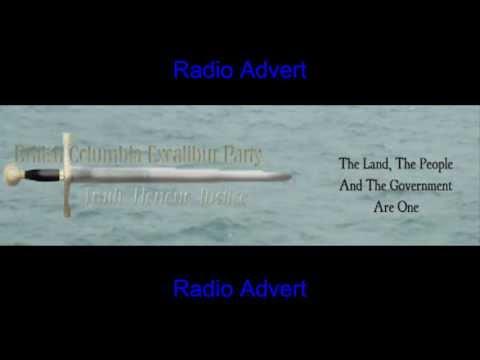 Excalibur Party Advert CBC Radio