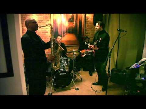 Francesco Di Cicco blues quartet live at...