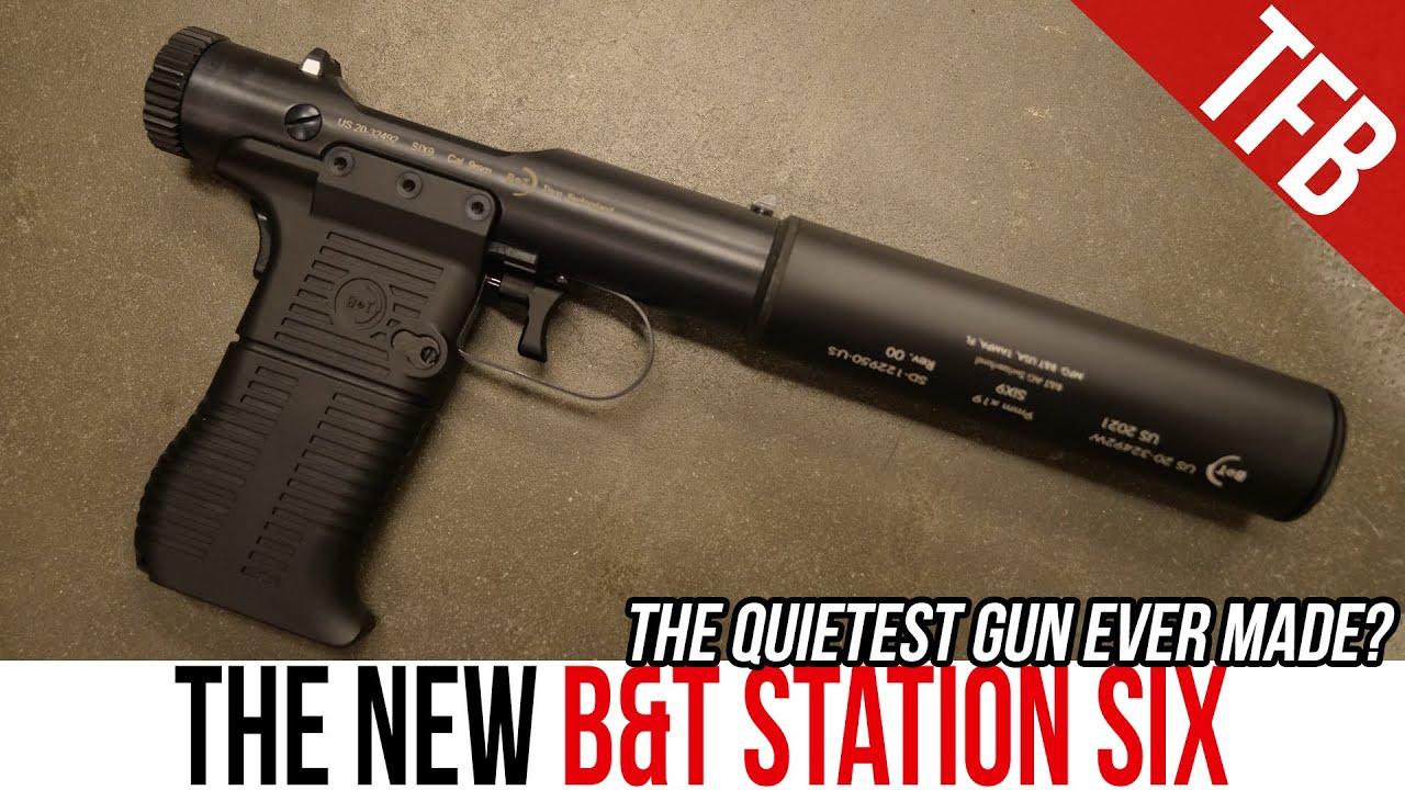 B&T VP-9 Reborn? The Amazing NEW B&T Station SIX #GunFest2021
