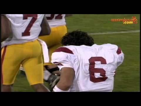 USC Football Ryan Kalil and Mark Sanchez Post Stanford 2006