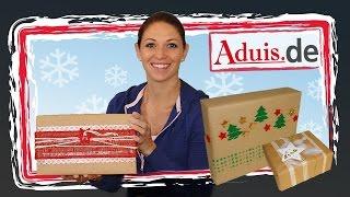 Geschenke liebevoll verpacken