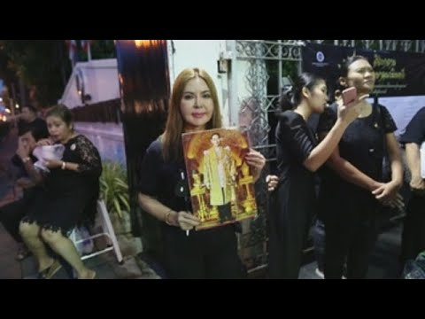 Tailandia recuerda al rey Bhumibol Adulyadej en su primer aniversario luctuoso