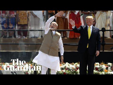 Trump sings Modi's