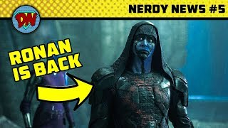 Captain Marvel's Villain, Infinity War New Clip, Agent Coulson is Back, Aquaman | Nerdy News #5
