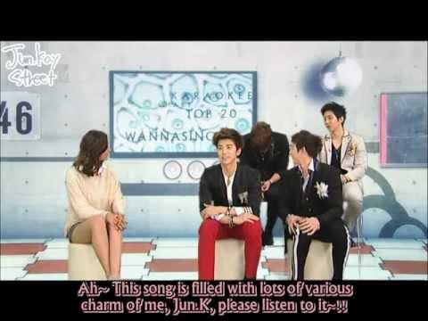 [ENGSUBBED] 2PM on Top 20 Karaoke Chart