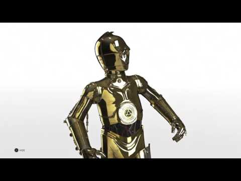STAR WARS  Battlefront C3PO and R2D2